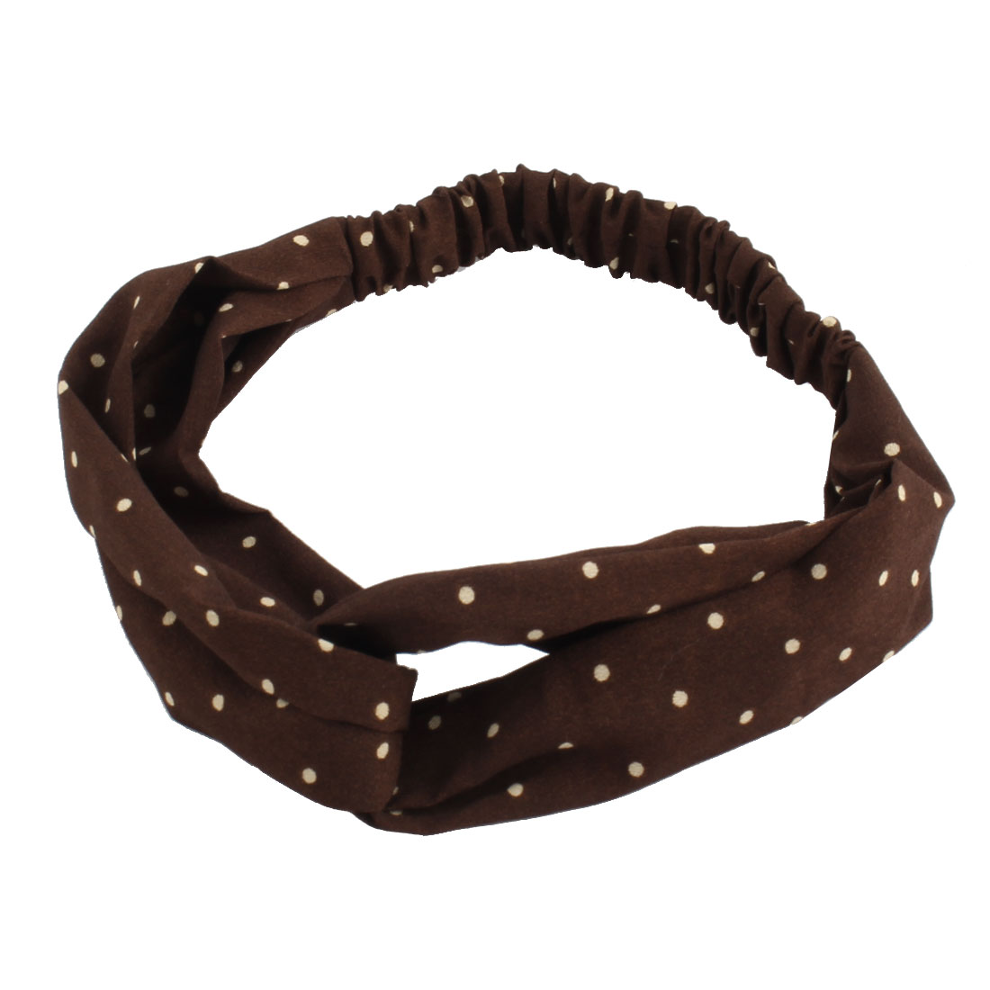 Exercise Cloth Dot Pattern Sports Headband Headwraps Scarf Sweatband Army