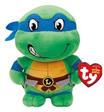 Ninja Turtle Baby Stuff (Teenage Mutant Ninja Turtles TY Beanie Babies  7 Inch Small Toy Plush -)