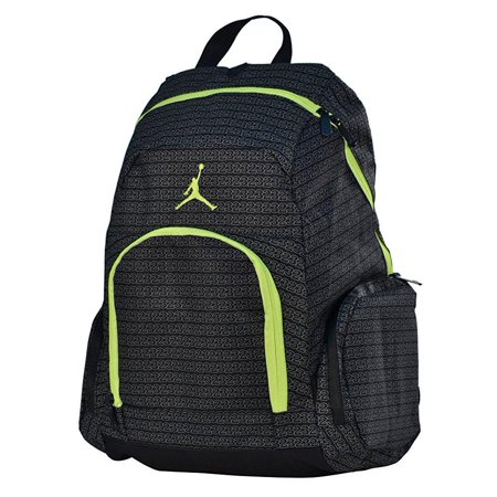 Nike - Jordan Air Jumpman 23 Backpack Laptop Book Bag-Black Yellow -  Walmart.com 7a4cfb378ca81