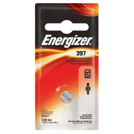 Energizer 397BPZ 397 Watch & Calculator Battery by