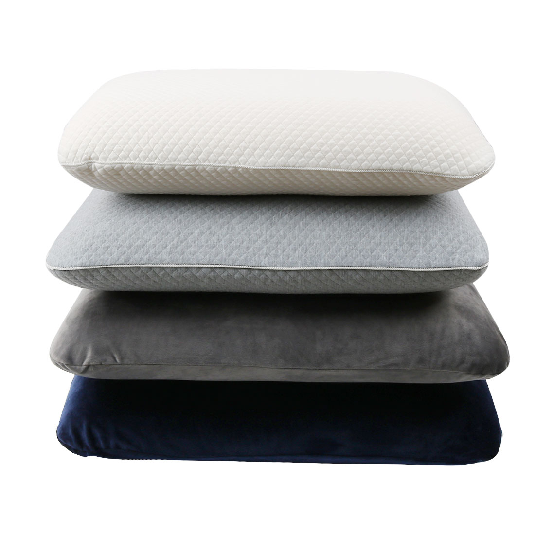 Bedding Sleeping Slow Rebound Memory Foam Pillows with Neck Support,Yet Firm Mid-Core Pillow, Care Pillow