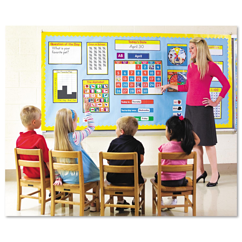 110115 Carson Dellosa Morning Meeting Solution Bulletin Board Set