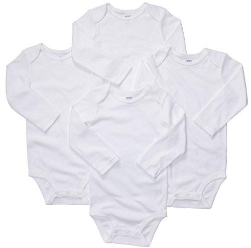 Big Oshi Baby 3 Peice Pack Short Sleeve Bodysuit 0-3 Months White