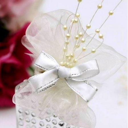 Balsacircle 144 Pcs Beaded Pearl Sprays Wedding Party Home Crafts