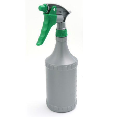 700ML Water Trigger Spray Sprayer Bottle Cleaning Tool Gray Green for Car Home