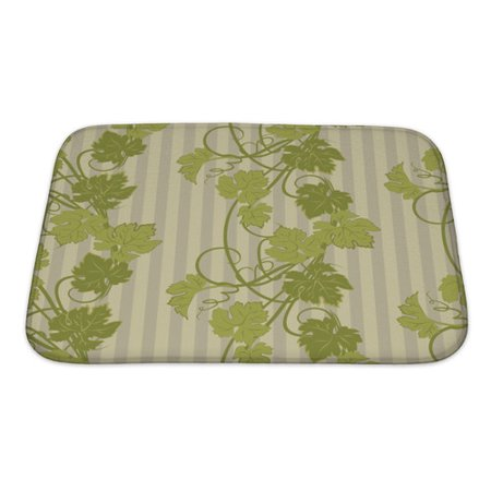 Gear New Leaves Repeating Pattern With Vines In Vintage