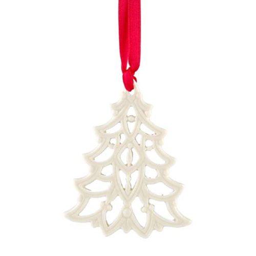Ornament  Pierced Tree  NEW LENOX  China Charm