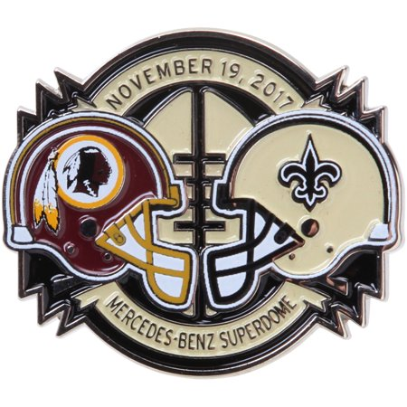 New Orleans Saints vs. Washington Redskins WinCraft 2017 Matchup Game Pin - No Size - Redskin Vs Cowboys