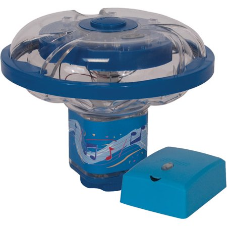 Underwater light show fountain for in ground above for Pool light show walmart