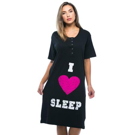 4361-110-M Just Love Short Sleeve Nightgown / Sleep Dress for Women / Sleepwear ()
