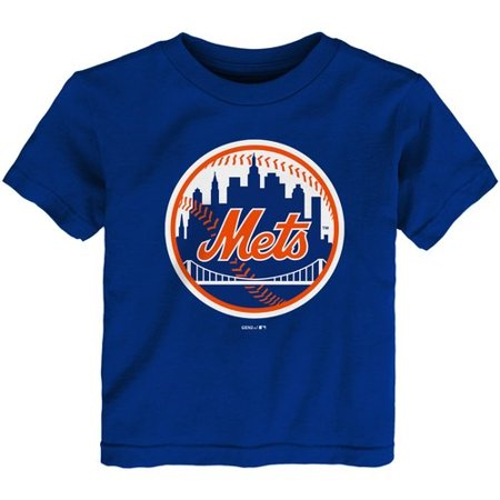 New York Mets Toddler Team Primary Logo T-Shirt - Royal ()