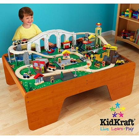 KidKraft Train Town and Table Set - Walmart.com