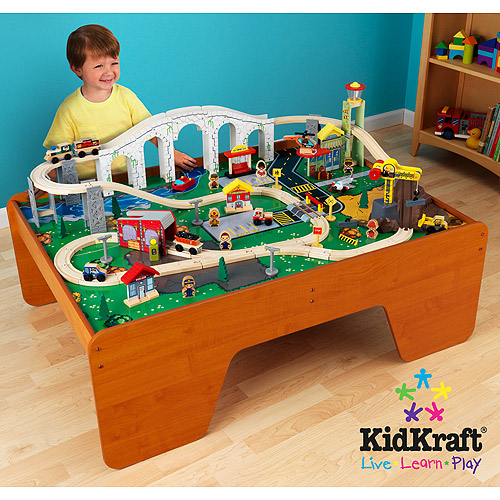 Exceptional KidKraft Train Town And Table Set
