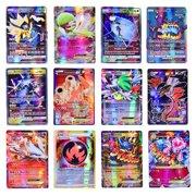100pcs for Pokemon Battle Card GX MEGA Booster Trading Game Shining Cards