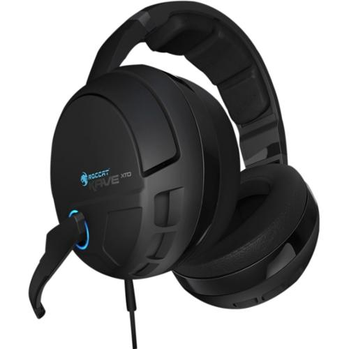 Roccat Kave XTD 5.1 Digital - Premium 5.1 Surround Headset with USB Remote & Sound Card - Black - USB - Wired/Wireless -