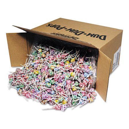 Spangler Dum-Dum-Pops Individually Wrapped Assorted Flavor Lollipops, 30 lbs