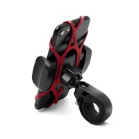 Widras Bike and Motorcycle Cell Phone Mount Holder For iPhone Samsung or any Smartphone & GPS - Universal Mountain & Road Bicycle Handlebar Cradle