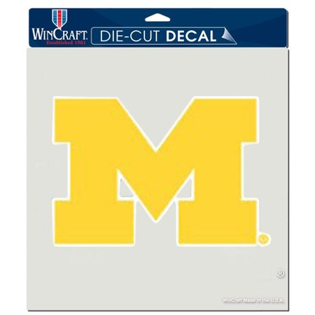 Michigan Wolverines WinCraft 8'' x 8'' Color Car Decal - No -