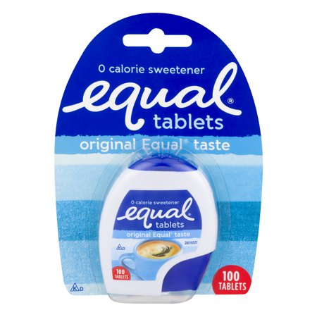 Equal Sweetener Tablets No Calories Original Sweetener And Diabetic Friendly Sugar Substitute For Coffee And Tea  100 Ct