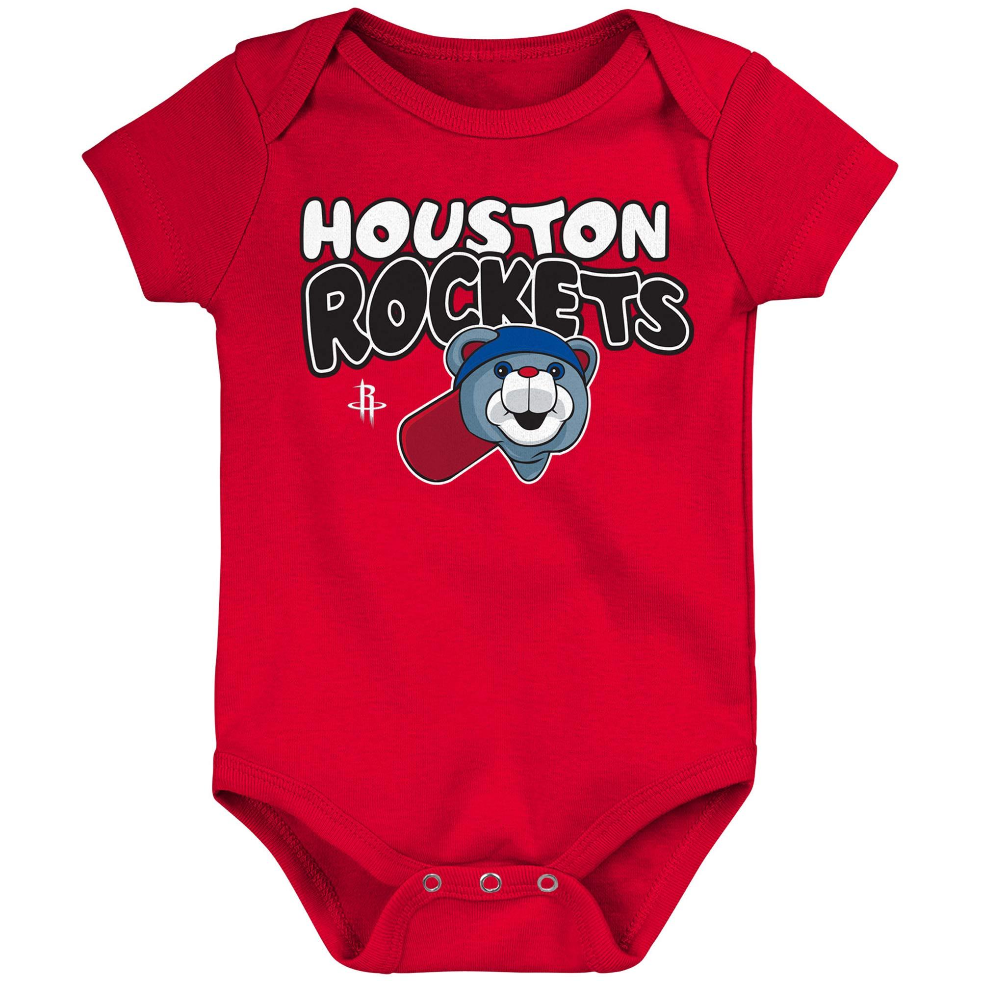 Houston Rockets Infant Bubble Letter Bodysuit - Red