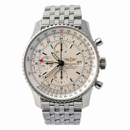 Pre-Owned Breitling Navitimer A24322 Steel Watch (Certified Authentic & Warranty)