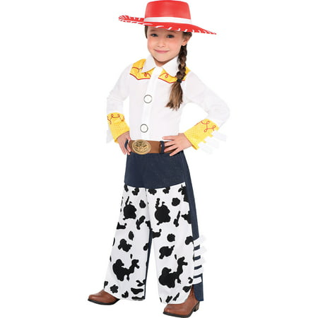 Suit Yourself Jessie Halloween Costume for Toddler Girls, Toy Story, Includes Accessories