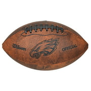 "Wilson NFL 9"" Throwback Football, Philadelphia Eagles"