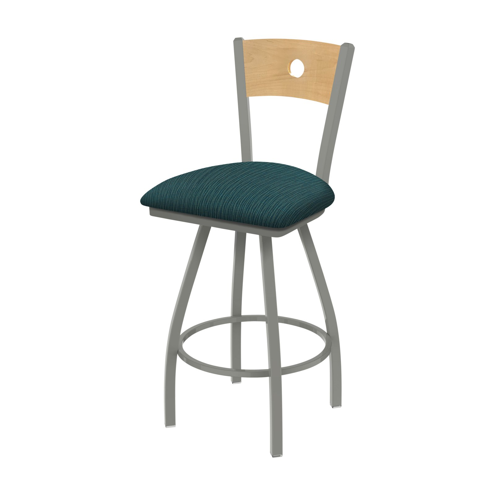Holland Bar Stool Co XL 9 Voltaire 9 in. Fabric Swivel Extra Tall Bar  Stool