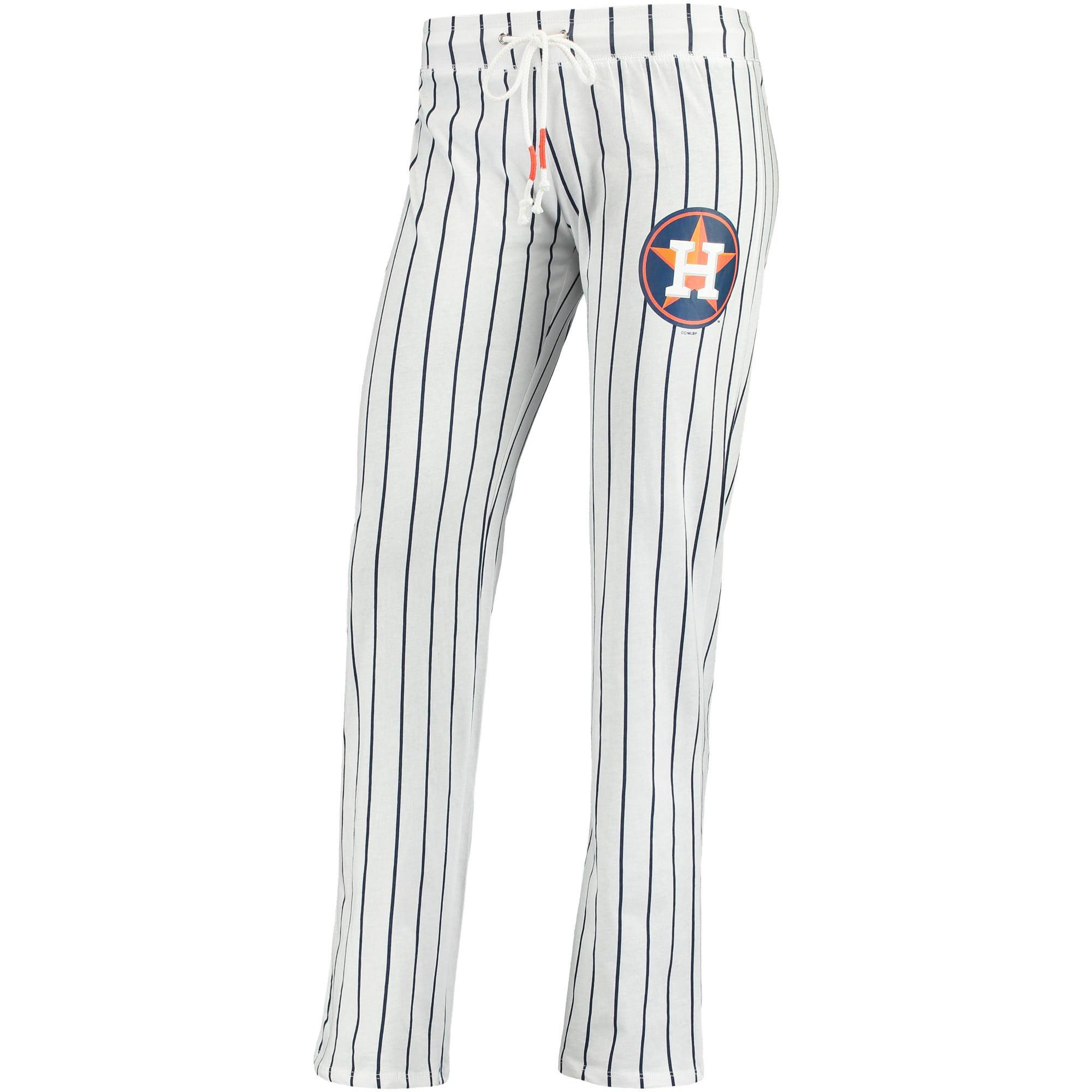 Houston Astros Concepts Sport Women's Vigor Pinstripe Sleep Pant - White