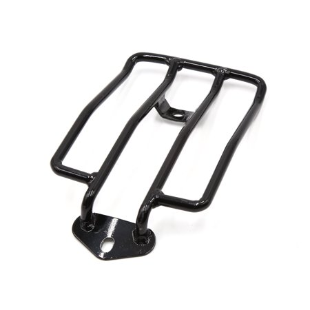 Motorcycle Fender Rear Luggage Rack Carrier Shelf Black for Harley-Davidson Motorcycle Luggage Rack Bags