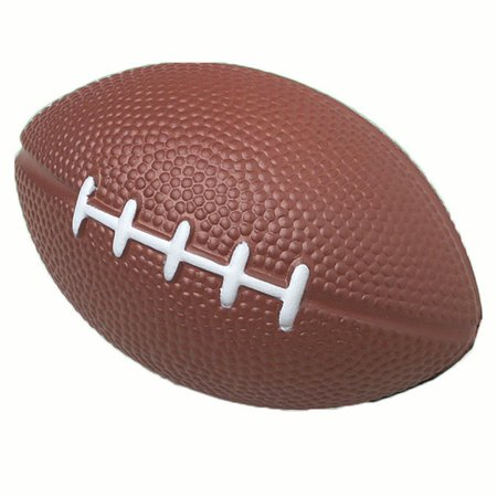 US Toy Soft Foam Safe Mini Football Tailgate 4in Party Favors, Brown, 12 Pack - Packers Tailgate Party