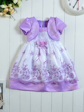 Kids Toddler Baby Girl Flower Princess Party Pageant Wedding Formal Dresses