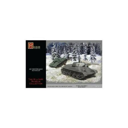 - Russian T-34 Tanks Miniature 20mm WWII Pegasus