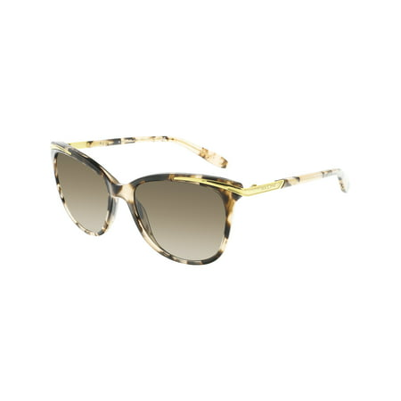 Ralph By Lauren Women's Gradient RA5203-146313-54 Brown Butterfly Sunglasses ()