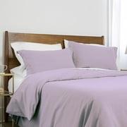 Neutral Solid Color 3-Piece Duvet Cover Set by Southshore Fine Linens
