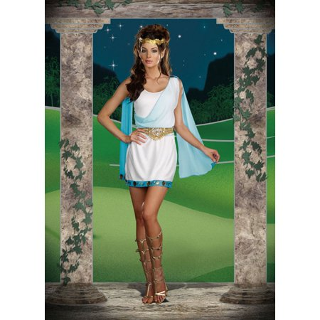 Sexy Adult Dreamgirl Its Chic to be Greek Female Costume Dreamgirl 7486, Extra Large