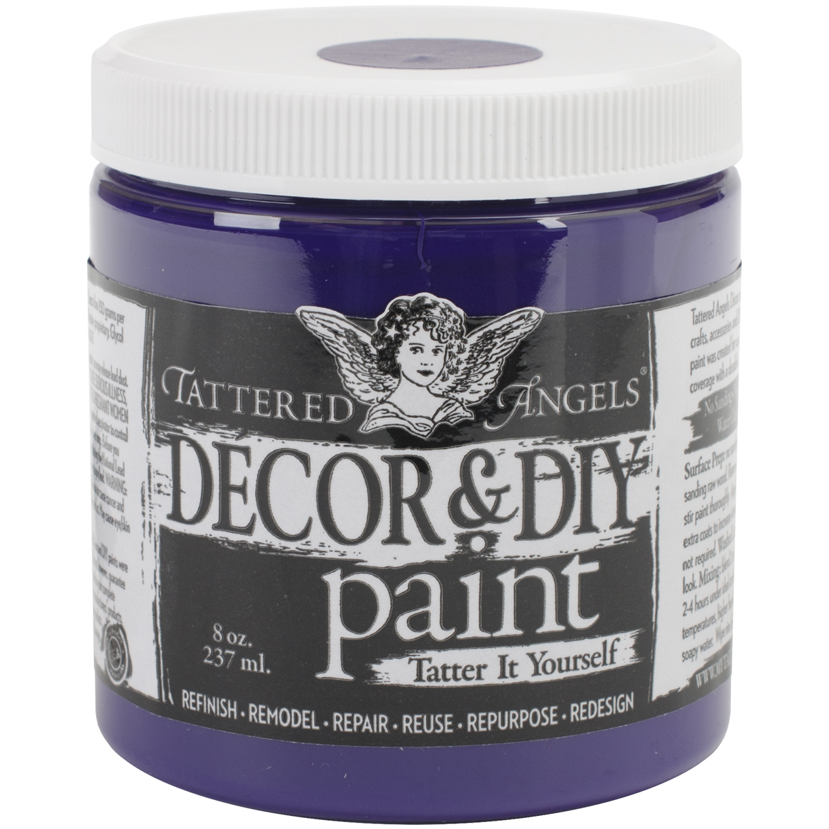 Decor & DIY Paint Cup 8oz-Amethyst