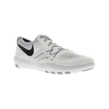 brand new 2a1f6 869e0 Nike Women's Free Tr Focus Flyknit White / Black - Wolf Grey ...