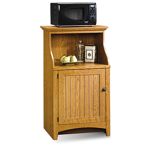 sauder kitchen stand, carolina oak - walmart