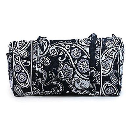 Vera Bradley Small Duffel Bag in Midnight Paisley - Walmart.com 1b1c60304fe28