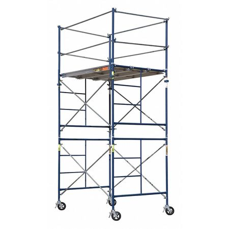 METALTECH Scaffold Tower,5 ft.L,with Casters M-MRT5710-A by Metaltech