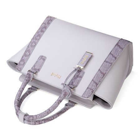 Kadell Women Fashion Purse Handbag Top-handle Cross Body Purse Elegant Durable PU Leather Tote Bag  - image 9 of 9