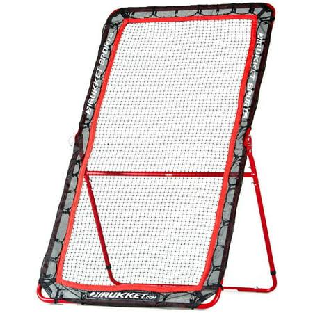 Rukket 4x7ft Baseball & Softball Rebounder Pitch Back Training (Baseball Rebounder Nets)