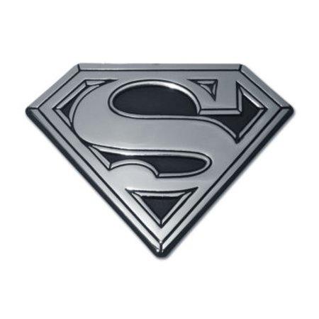 Superman Solid Chrome Emblem
