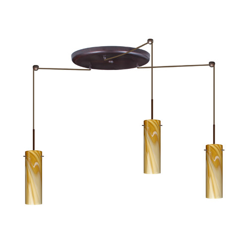 Besa Lighting Copa 3 Light Mini Pendant