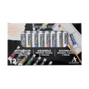Grumbacher Academy Watercolor Set, 10-Colors