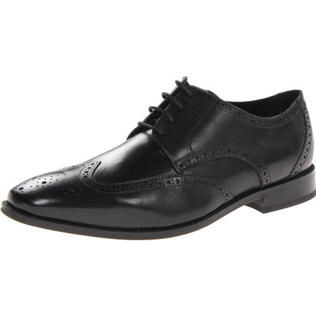 Florsheim Mens Castellano Wing Leather Wing Tip Derby Shoes by Florsheim
