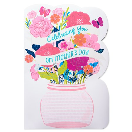 American greetings celebrating you mothers day card with glitter american greetings celebrating you mothers day card with glitter m4hsunfo