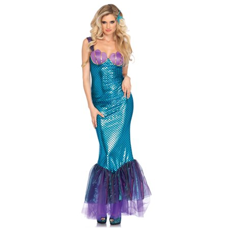 Leg Avenue Womens 2 PC Sexy Seashell Mermaid Costume](Mermaid Costume Womens)