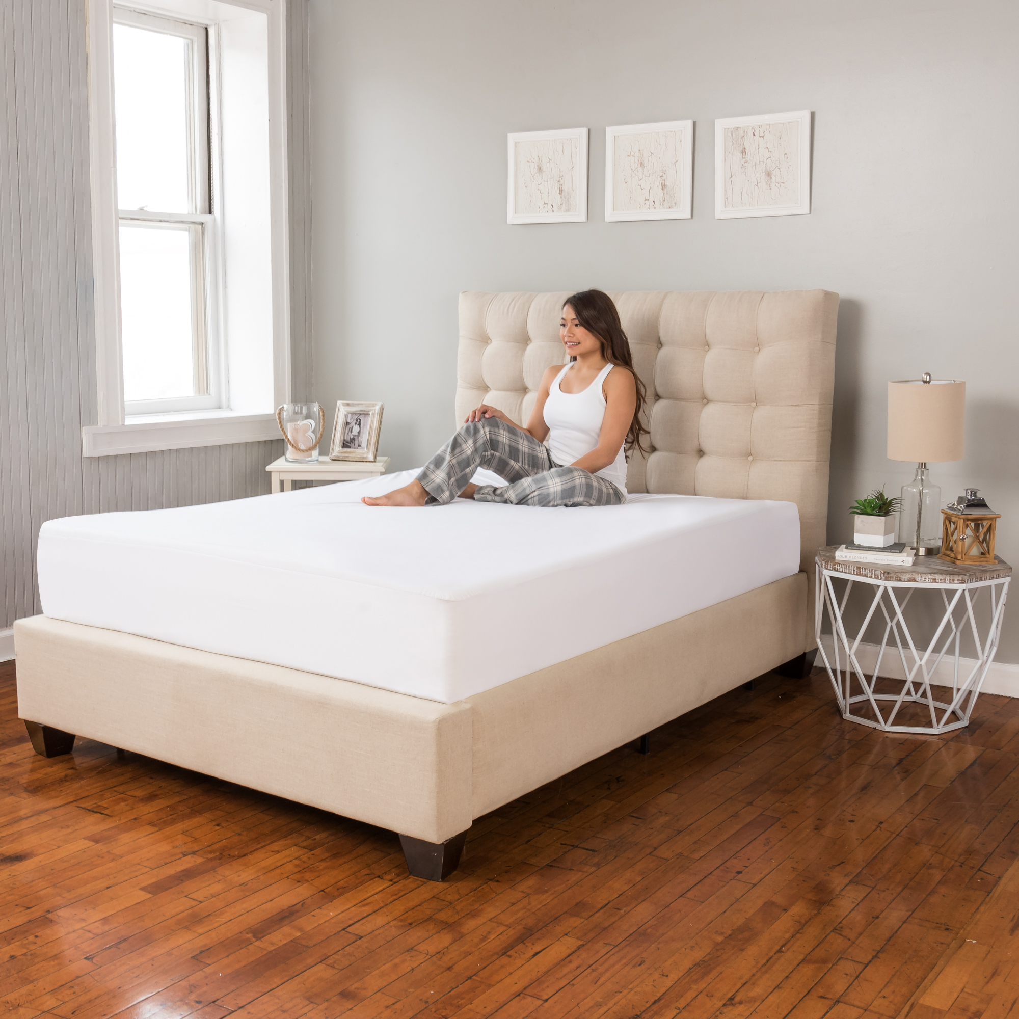 Modern Sleep Defend-A-Bed Premium Waterproof Mattress Pad, Multiple Sizes